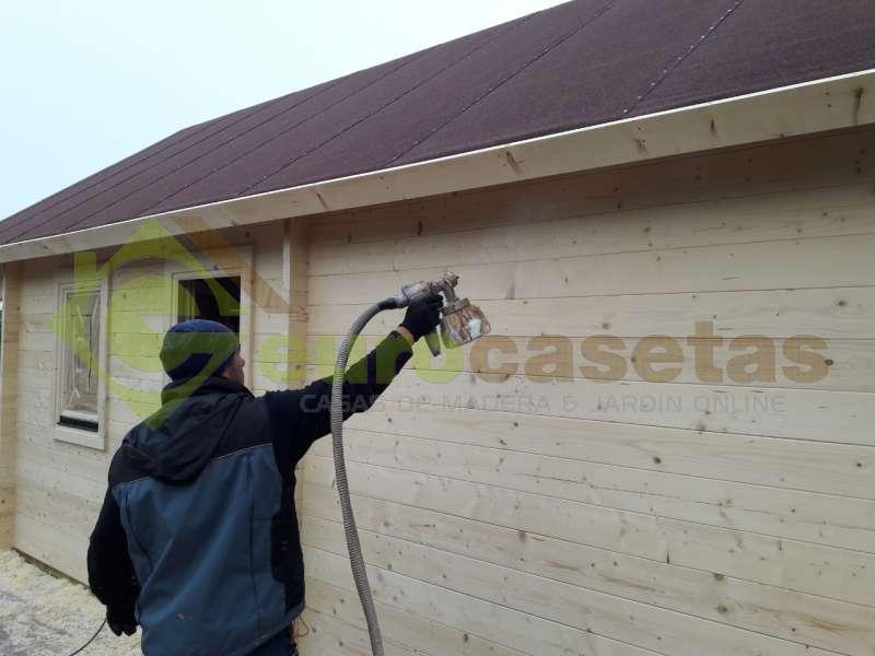 "Casa de madera ""NOIA"", 44mm"