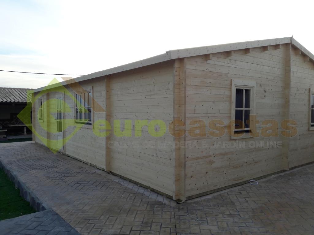 Casa de madera RADO 10.2 x 7.0m, 44mm