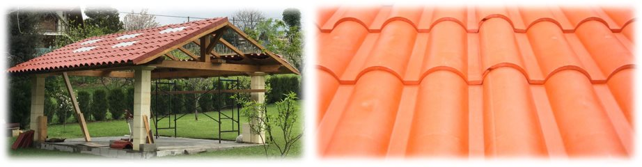 Teja ligera Roofeco