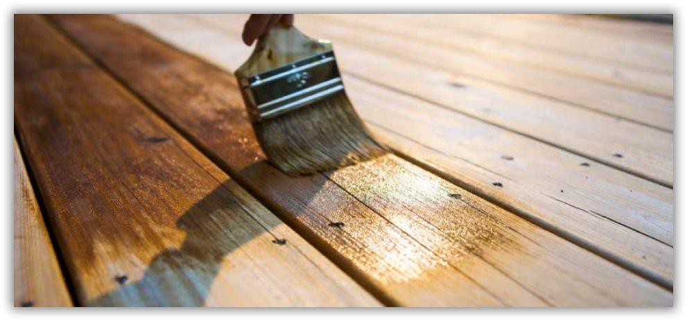 Tratamiento caseta de madera