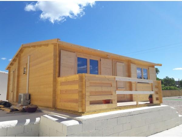 """Casa de madera """"HAKAN PLUS , 50 m2"""", 44mm Especial"""