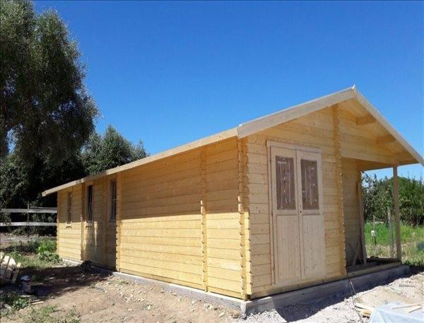Montaje casa de madera Mallorca 72 m², 44mm en Portugal